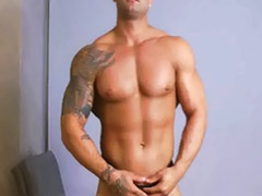 Mike, Miking, Solo male cum
