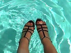 Pool stockings, Pool mature, Swim pool, Swim, Stockings amateur, Stockings mature