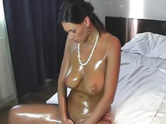 Shaved oil solo, Solo, oil, Solo shaved oil, Solo oiled, Solo oil, Masturbation oiled