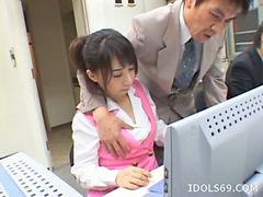 Japanese, Office, Blowjob