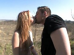 Redhead blowjob, Pomp, Nature, Natural redhead, French redhead, French nature