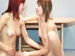 Shy lesbians, Shy lesbian, Lesbian shy, On floor, Girlfriend lesbian
