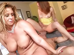 Mom, Daughter, Mom anal