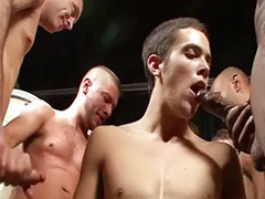 Soaking, Hot twink, Bukkake gay