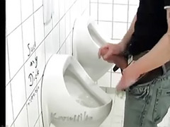 Toilet public, Wanking outdoors, Thick solo cock, Thick cock solo, Thick cock, Toilet wank
