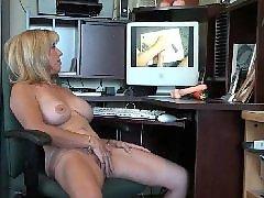 Milf, Watching, Videos