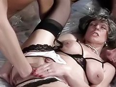Young double, Vintage anal threesome, Threesome anal mature, Young threesome anal, Young fisting, Young doubled