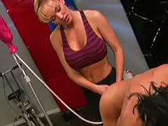 In gym, Gym tits, Lesbians tits anal, Lesbians black tits, Lesbian in gym, Lesbian gym