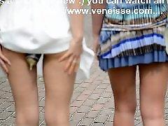 Public lesbians, Public lesbian, Veneisse, Toys outdoor, Toy public, Walk sex