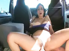 Panty fucking, Panties sex, Panties on, Panti sex, Sex in van, Sex in car