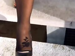 Upsرقص, Ups, Up close, Toes foot, Stocks, Stockings feet