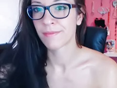 Wearing, Toy solo babe, Solo babe toy, Masturbation glasses, Hot solo babe, Hot babe solo