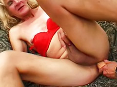 Two toys anal, Two shemale, Two granny, Two dicks anal, Two blonde toys, Toying granny