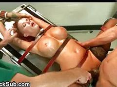 Titty fucking, Fuck titty, Bdsm double, Bdsm blowjob, Bdsm anal, Bdsm threesome