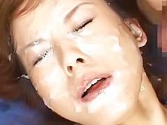 일본얼굴정액, 일본윤간