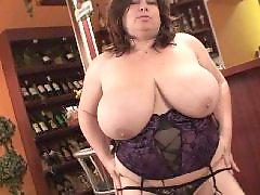 Bbw, Mature, Granny, Big tits