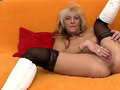 Work, Milf hard, Mature stockings, Hard milf, Working hard, Working