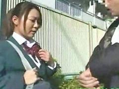 Double penetration, Double, Schoolgirl