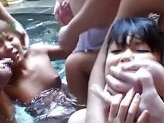 Felt, Asian pool