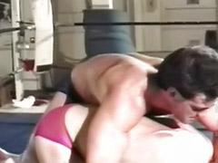 Vintage shaved, Vintage gym, Sexy gym, Fighting, Gym gay, Gay gym