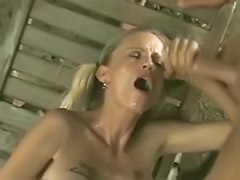 Threesome handjobs, Pigtails, Pigtailed blonde, Pigtailed, Pigtail handjob, Pigtail blonde