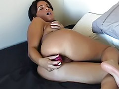 Use toy, Tanned, Used wife, Tanned milf, Tanned masturbation, Tan girl