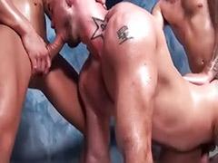 Gay black group cum, Gay black group, Gay bathouse, Anal group tattoo