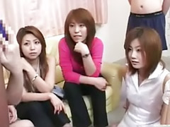 With subtitle, Party japanese, Party handjob, Party asian, Party cfnm handjob, Parti japanese