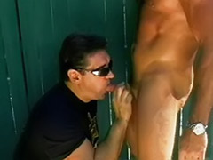 Policeı, Police gay blowjob, Stronge, Strong sex, Patrol, Outdoor dick