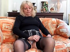 Granny, Mature stockings, Vintage