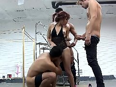 Teen, Gangbang, Little
