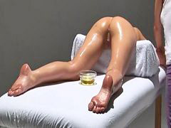 Massage, Orgasm, Oil