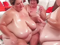 Twister, Play twister, Interracial fat, Fat tit, Fat licking, Big tits playing