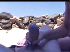 Masturbate on beach, Handjob swallows, Handjob swallow, Handjob beach, Big beach, Beach masturbation