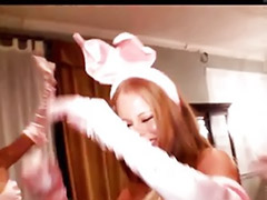 Playboy bunnies, Oral orgy, Bunny d, Blond orgy, Sex playboy, Playboy