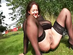 Tits stockings solo, Tits solo mature, Toys outdoor, Toys chubby, Toying mature masturbating solo, Toy public