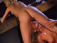 Bar sex, Lesbians in stockings, Lesbian in stockings