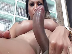 Shemale solo ejaculation