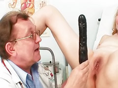 Toying granny, Pussy granny, Vaginal speculum, Toy granny, Speculums, Mature gyno
