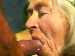Granny, Old, Mature, Granny fuck, Young, Facial