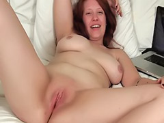 Tit playing solo, Wet tits, Wet solo pussy, Wet big tits, Wet amateur pussy, Redhead big tits masturbation