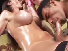 Shemale banged guy, Shemale banged, Lucky guy anal, Lucky guy, Lucky anal, Anal lucky guy