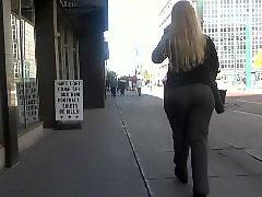 Whooty, Voyeur dress, Voyeur blonde, Voyeur blond, Dressed, Blonde booty
