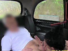 Faketaxi, Anal in, In creampie, Busty brunette, Busty anal amateur, Busty anal