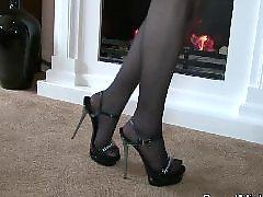 Nylon, High heels, Heels