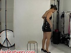 X clips, R clips, Latex dress, Latex amateur, In dress, Dressed