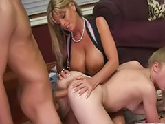 With stepmom, Stepmom threesomes, Stepmom threesome, Milf stepmom