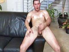 Studs masturbation, Eric, Gay stud solo