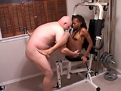 Ebony anal, Interracial anal