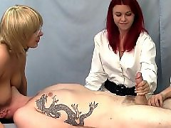 Handjob, Threesome, Nurse